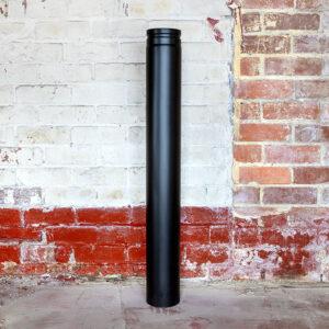 Large Black Chimney Tube