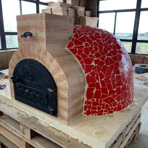 Fuego Mosaic 90 – Professional Clay Pizza Oven