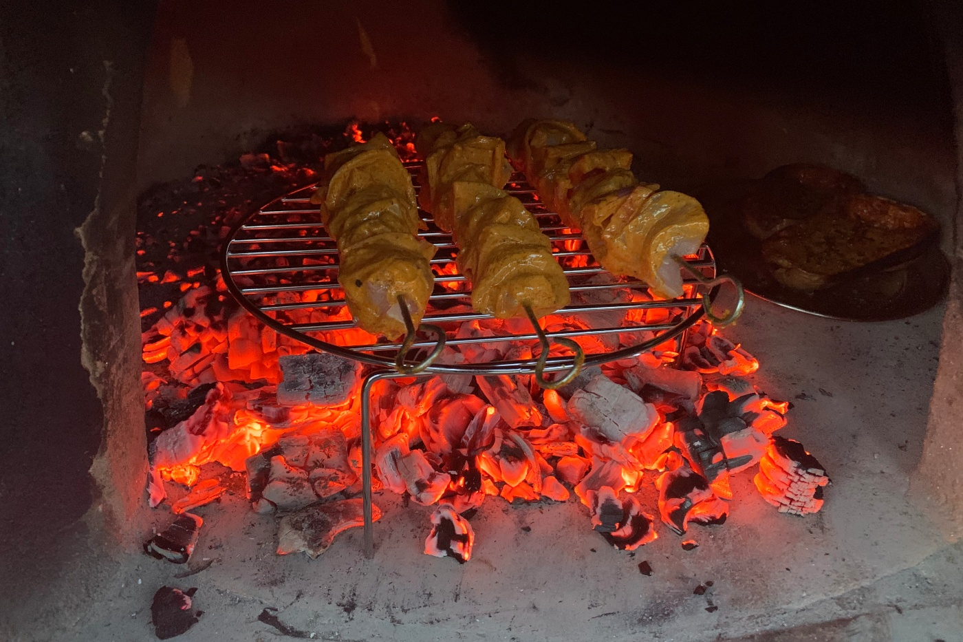 Spicy Chicken Skewers