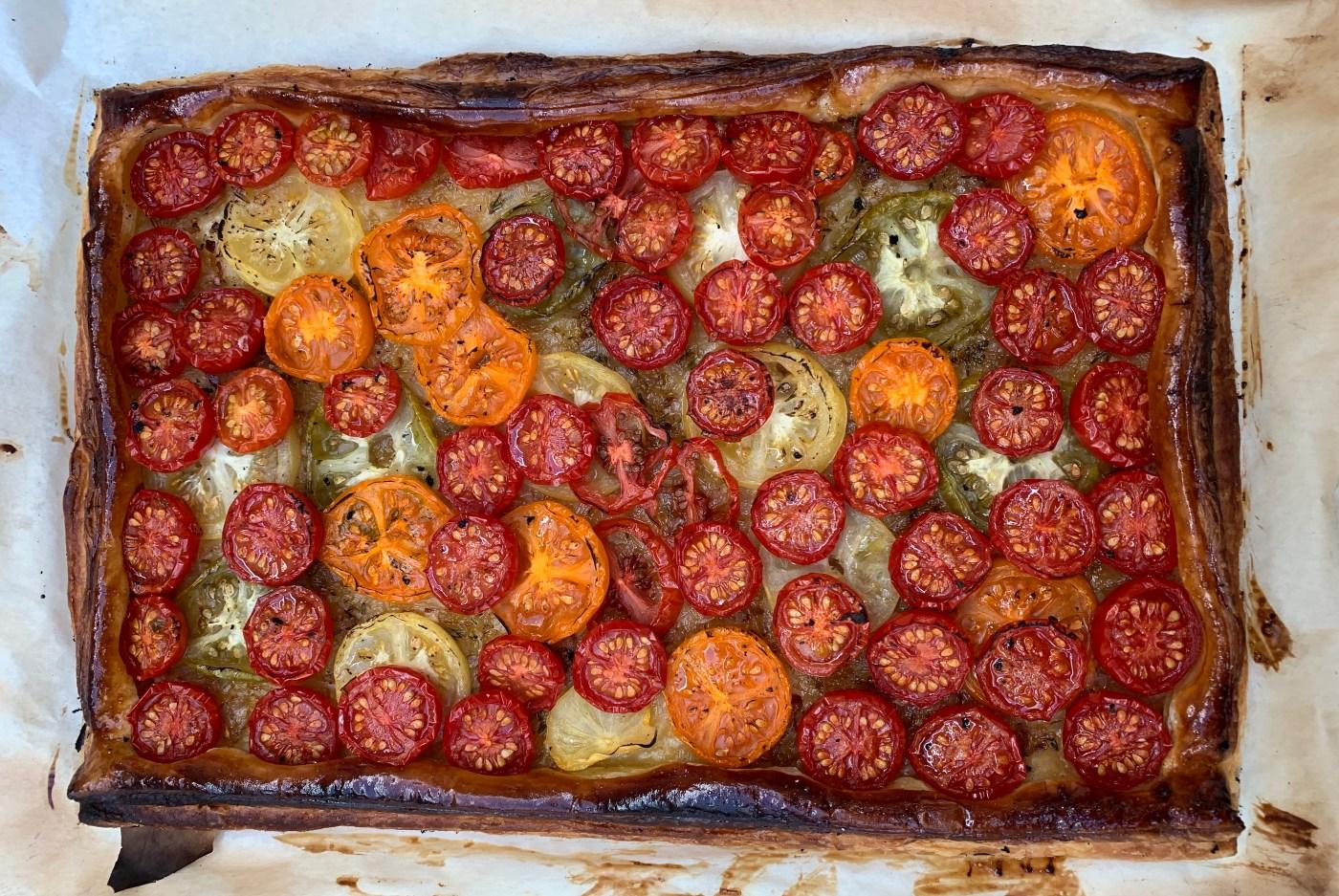 Roast Tomato Tart