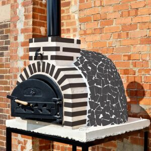 Fuego Black Mosaic 65 – Hand-Made Outdoor Oven