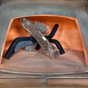 Gi Metal Andiron Stump Holder