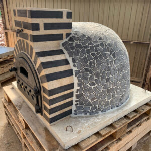 Fuego Black Mosaic 90 – Professional Clay Pizza Oven